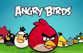 愤怒的小鸟 Angry birds 英文字体下载