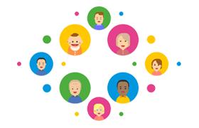 家庭成员卡通形象,AI源文件