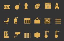 600+像素图标,AI源文件