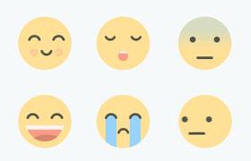28枚可爱表情GIF图标,多尺寸打包下载