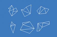 6款线条几何形状,AI源文件