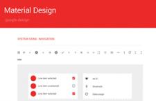 Material Design设计规范模版,PSD源文件