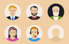 15枚用户头像图标,sketch SVG格式