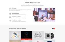 设计公司网站模版,PSD源文件