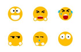 27枚表情图标,PNG svg格式