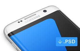 Samsung Galaxy S7 手机模型,PSD源文件
