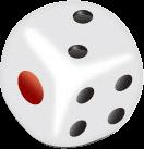 高清骰子PNG图标