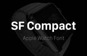 SF Compact,Apple Watch英文字体