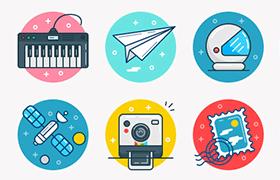 15枚生活图标,AI PSD SVG 源文件