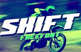 Shift 英文字体