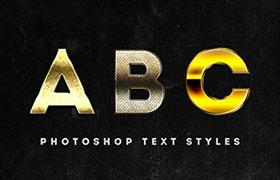 3款黄金字体样式,ASL格式