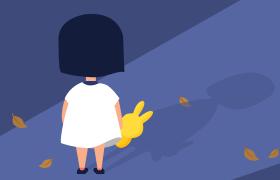 关爱儿童公益广告图,PSD源文件