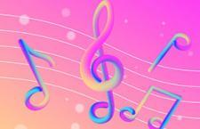AI教程:混合工具打造炫彩音符
