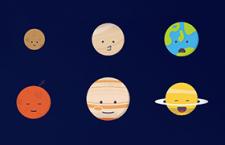 12枚行星图标,AI源文件