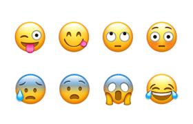 68枚矢量表情Emoji,PSD源文件