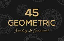 45枚几何图形,csh格式
