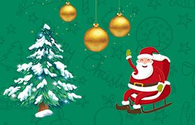62张圣诞PNG免抠素材