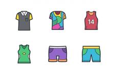 50枚时尚服饰配件图标,PNG SVG格式