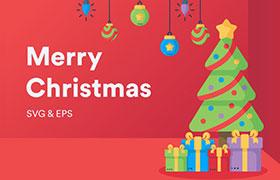 32枚圣诞节图标,AI源文件