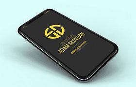 9张高清不同视角iPhoneX 样机,PSD格式
