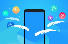 手机海量应用广告图,PSD源文件