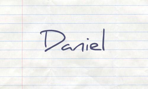 22款简约手写风格的英文字体