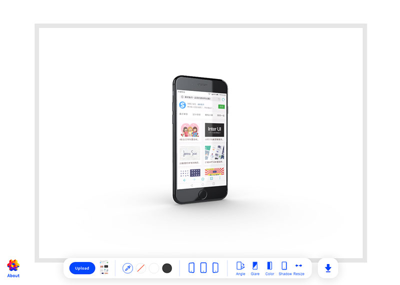 Threed:在线预览 手机UI界面神器