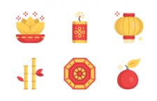 30枚新春图标,PNG SVG格式