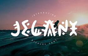 Jelani 非洲土著风英文字体