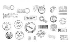 印戳印章矢量素材,AI源文件