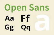 Open Sans 谷歌开源字体 完整版