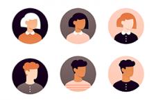 21款扁平化用户头像,AI源文件