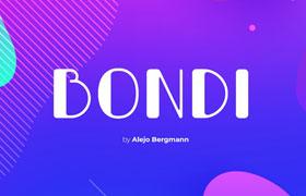 Bondi 免费英文字体
