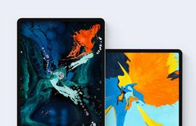 iPad Pro 展示模板,PSD源文件