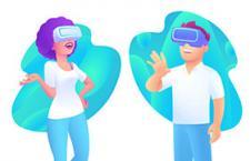 2.5D插画VR人物,AI源文件