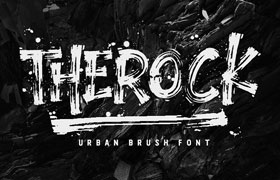 THEROCK 涂鸦字体