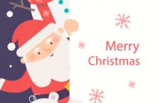 圣诞节贺卡插图,AI源文件