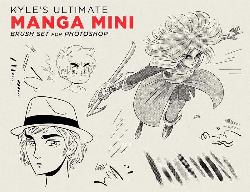 Kyle's Manga 日本漫画PS笔刷