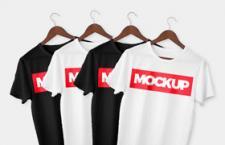 T恤文化衫模版,PSD格式