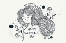 母亲节手绘插图,AI源文件
