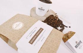 咖啡包装VI展示模板
