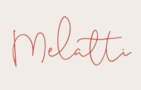 Melatti 优美手写英文字体