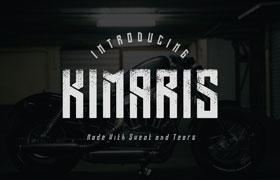 Kimaris 个性英文字体