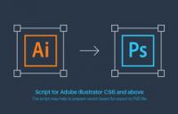 Ai2Psd:一键ai转psd格式脚本