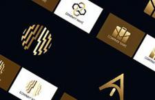 53款金色创意LOGO图形,AI源文件
