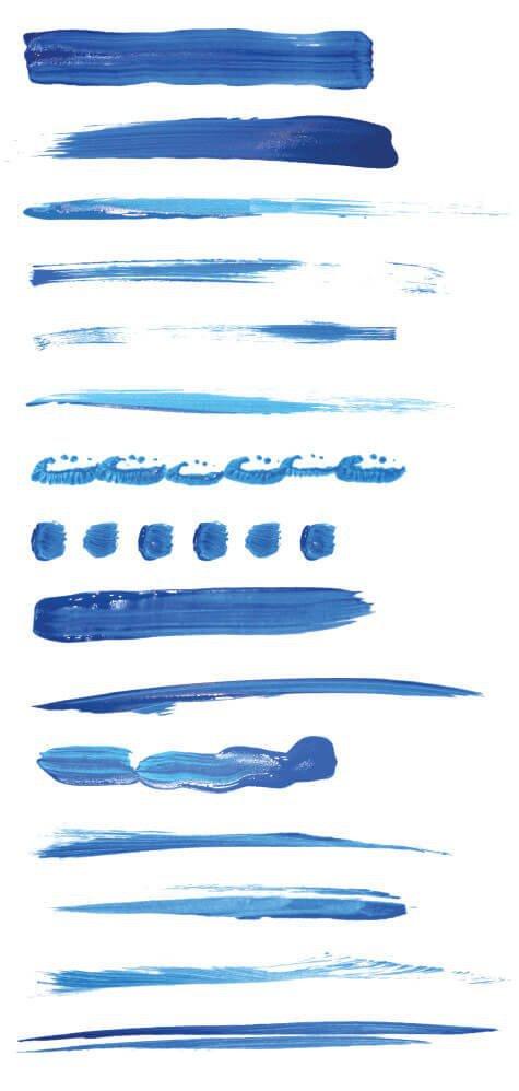96款AI油漆效果笔刷