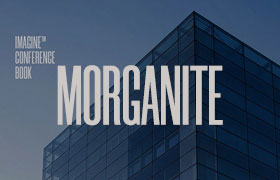 Morganite 扁长型英文字体,免费商用