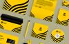 14套企业品牌样机VI模板,AI格式