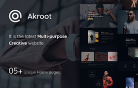 欧美时尚潮流网站模板,PSD源文件