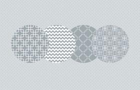 7种白色图案,PAT格式